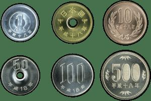Monedas Japón