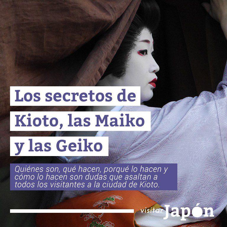 Los secretos de kioto maiko y geiko